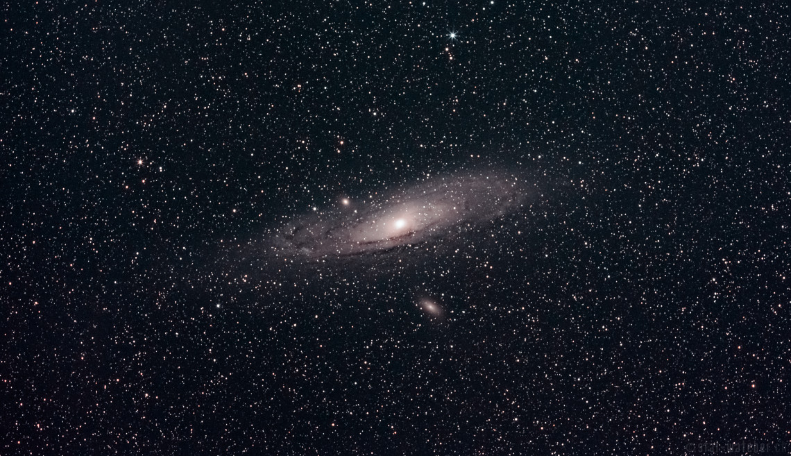 M31 Andromeda (59 Lights, 33 Darks, 24 Bias)