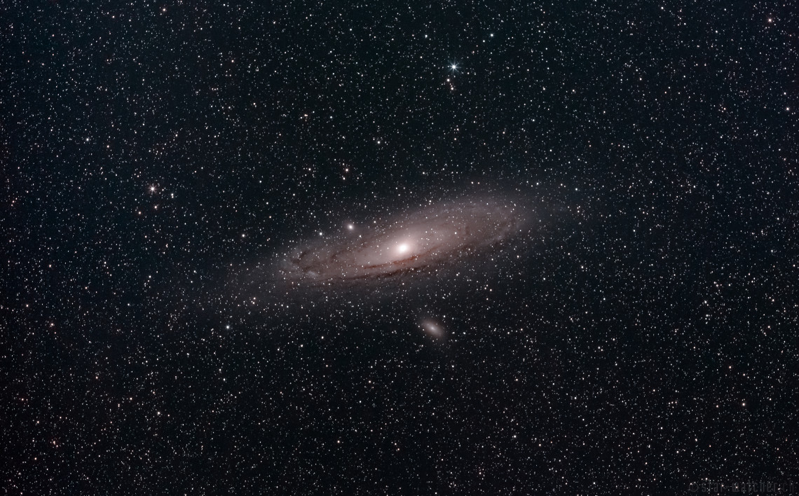 M31 Andromeda (71 Lights, 33 Darks, 39 Bias)