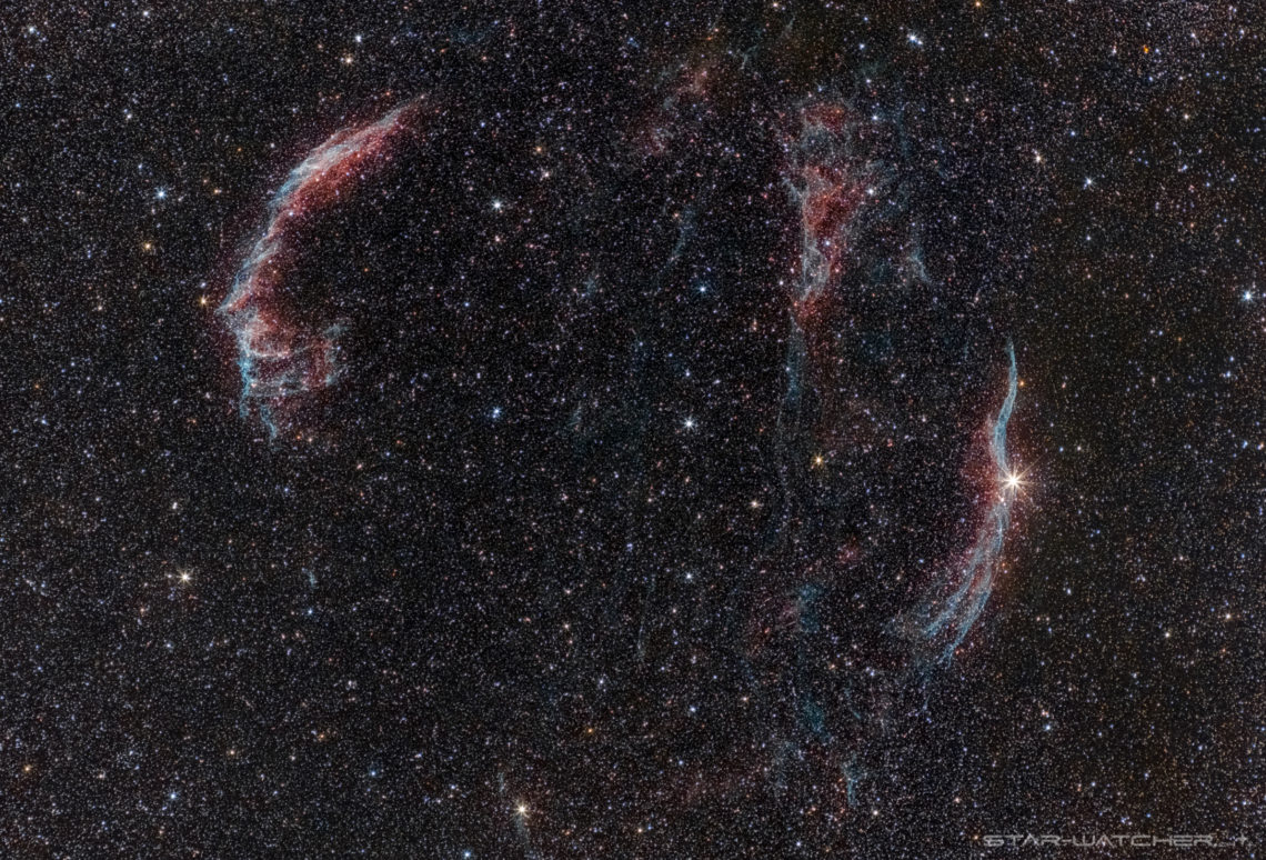 Cygnus Loop 2016-08-03 280mm f5.6 ISO1600 3h6m-v6